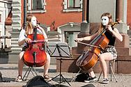 Buskers, Riga, Latvia © Rudolf Abraham