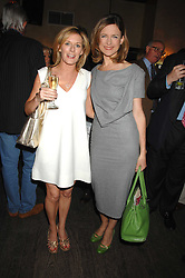 Left to right, ANDREA CATHERWOOD and KATIE DERHAM at a party to celebrate the publication of Piers Morgan's book 'Don't You Know Who I Am?' held at Paper, 68 Regent Street, London W1 on 18th April 2007.<br /><br />NON EXCLUSIVE - WORLD RIGHTS