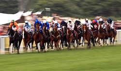 Action from the Queen Alexandra Stakes during day five of Royal Ascot at Ascot Racecourse.