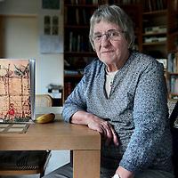 Nederland, Nijmegen, 9 juni 2015.<br /> Marie-Louise Al-Cuijpers (76) beschreef het levensverhaal van haar moeder, de bekende Heerlense activiste Tine Cuijpers-Boumans.<br /> <br /> <br /> Foto: Jean-Pierre Jans
