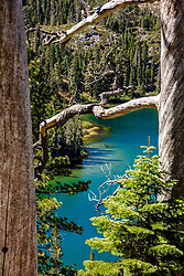 """""""Smith Lake 6"""" - Photograph of Smith Lake in California's Plumas National Forest."""