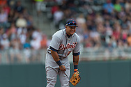 Minnesota Twins vs. Detroit Tigers on August 15, 2012 at Target Field in Minneapolis, Minnesota.  The Tigers defeated the Twins 5 to 1.  Photo: Ben Krause