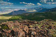View from Leviathan Peak at Monitor Pass, Alpine County, California