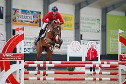 027, Prestige van het Kluizebos, Van Den Broeck Tim, BEL<br /> BWP hengstenkeuring - Meerdonk 2018<br /> © Hippo Foto - Dirk Caremans<br /> 17/03/2018