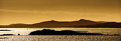 Sailing through the Sound of Harris approaching the island of Berneray, Outer Hebrides, Scotland<br /> <br /> (c) Andrew Wilson | Edinburgh Elite media