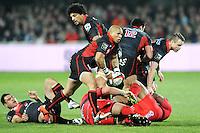 Enrico Januarie  - 14.03.2015 - Lyon OU / Toulon -  20eme journee de Top 14<br /> Photo : Jean Paul Thomas  / Icon Sport<br /> <br />   *** Local Caption ***