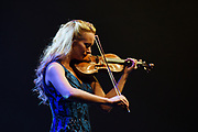 Caroline Campbell during a Chris Botti 2020 concert in Scottsdale Arizona