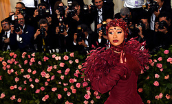 Cardi B attending the Metropolitan Museum of Art Costume Institute Benefit Gala 2019 in New York, USA.