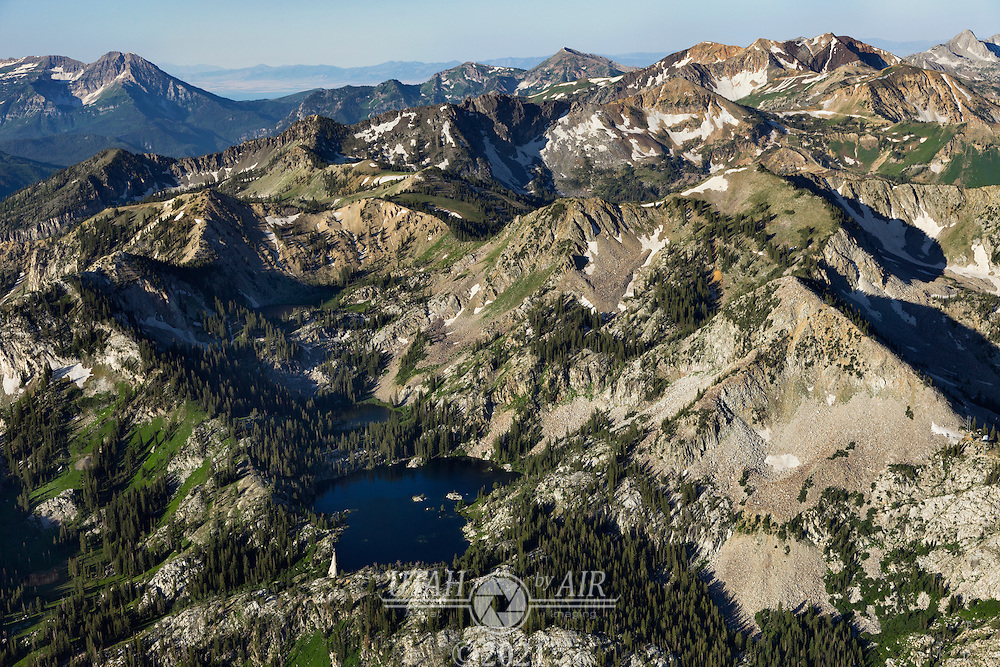 Mary and Martha lakes in Little Cottonwood Canyon