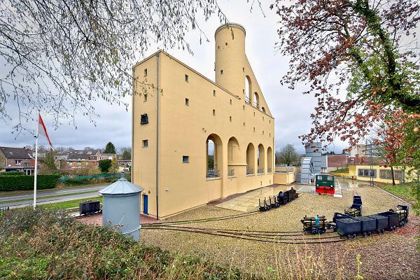Nederland, Kerkrade, 2-2-2018Het mijnmonument Schacht Nulland . De Schacht Nulland behoorde tot de voormalige Domaniale Mijn in Kerkrade. De oudste steenkolenmijn van Nederland . Foto: Flip Franssen