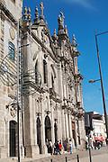 carmo and carmelitas churches porto portugal