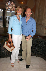 SIMON & SANTA SEBAG-MONTEFIORE at a party to celebrate the publication of 'A Much Married Man' by Nicholas Coleridge held at the ESU, Dartmouth House,  37 Charles Street, London W1 on 4th May 2006.<br />
