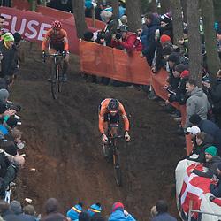 31-01-2016: Wielrennen: WK cyclecross beloften: Heusden Zolder<br />HEUSDEN-ZOLDER (BEL) cyclocross<br />Op het circuit van Terlamen-Zolder streden de veldrijders categorie beloften om de mondiale titels in het veld. Mathieu van der Poel en Lars van der Haar
