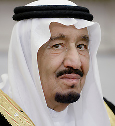 File photo - King Salman bin Abd alAziz of Saudi Arabia looks on during a bilateral meeting in the Oval Office of the White House in Washington, DC, USA on September 4, 2015. Saudi Arabia's king has appointed his son Mohammed bin Salman as crown prince - replacing his nephew, Mohammed bin Nayef, as first in line to the throne. Prince Mohammed bin Nayef, 57, has been removed from his role as head of domestic security, state media say. Photo by Olivier Douliery/Pool/ABACAPRESS.COM