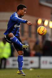 Swindon's Massimo Luongo  - Photo mandatory by-line: Mitchell Gunn/JMP - Tel: Mobile: 07966 386802 22/02/2014 - SPORT - FOOTBALL - Brisbane Road - Leyton - Leyton Orient V Swindon Town - League One