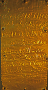 The Phoenician alphabet developed from the Proto-Canaanite alphabet, during the 15th century BC. Before then the Phoenicians wrote with a cuneiform script. The earliest known inscriptions in the Phoenician alphabet come from Byblos and date back to 1000 B