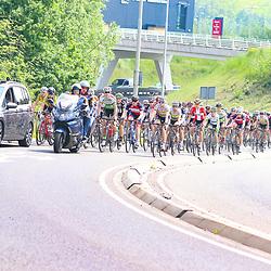 27-05-2016: Wielrennen: Boels Rental Classic: Valkenburg  <br />VALKENBURG (NED) wielrennen<br />Het peloton in de neutralisatie