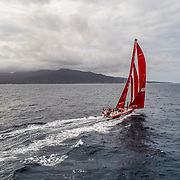 Leg 4, Melbourne to Hong Kong, day 18 on board MAPFRE, sailing next to Babuyan Islands, Philippines . Photo by Ugo Fonolla/Volvo Ocean Race. 19 January, 2018.