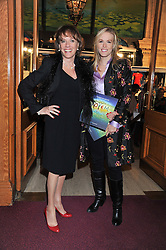 Left to right, ESTHER RANTZEN and her daughter REBECCA WILCOX attend the premier of 2012 Cirque du Soleil's Totem at the Royal Albert Hall, London on 5th January 2012,