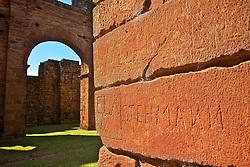 Construido no século XVIII, entre 1735 e 1745, o sítio Arqueológico de São Miguel Arcanjo é um conjunto de ruínas da antiga redução de São Miguel Ancanjo, integrante dos chamados Sete Povos das Missões, e um dos principais vestígios do período das Missões Jesuíticas dos Guarani em todo o mundo. Comumente chamado de ruínas de São Miguel das Missões, é considerado Patrimônio Mundial pelo UNESCO. FOTO: Marcos Nagelstein/Preview.com