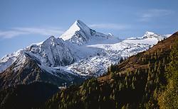 THEMENBILD - das Kitzsteinhorn, aufgenommen am 11. Oktober 2019, Kaprun, Österreich // the Kitzsteinhorn Glacier on 2019/10/11, Kaprun, Austria. EXPA Pictures © 2019, PhotoCredit: EXPA/ JFK