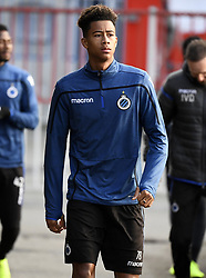 December 10, 2018 - Bruges, Belgique - BRUGGE, DECEMBER 10 : Noah Fadiga pictured during practice session the day before the UEFA Champions League group A match between Club Brugge KV and Atletico Madrid on December 10, 2018 in Brugge, 10/12/2018 (Credit Image: © Panoramic via ZUMA Press)