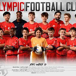 Olympic FC Team Photos 2021