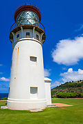 Kilauea Point Lighthouse, Kilauea National Wildlife Refuge, Island of Kauai, Hawaii USA