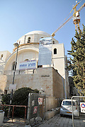 Israel, Jerusalem, The restoration and reconstruction of the RAMBAN synagogue September 2009