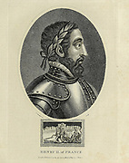 Henry II of France Henry II (French: Henri II; 31 March 1519 – 10 July 1559) was King of France from 31 March 1547 until his death in 1559. The second son of Francis I, he became Dauphin of France upon the death of his elder brother Francis III, Duke of Brittany, in 1536.  Copperplate engraving From the Encyclopaedia Londinensis or, Universal dictionary of arts, sciences, and literature; Volume VII;  Edited by Wilkes, John. Published in London in 1810