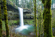 Silver Falls State Park, Oregon Photos - Stock images, waterfalls