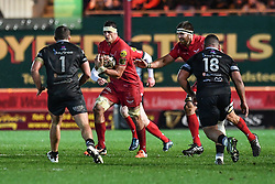 Scarlets' Aaron Shingler in action during todays match - Mandatory by-line: Craig Thomas/Replay images - 26/12/2017 - RUGBY - Parc y Scarlets - Llanelli, Wales - Scarlets v Ospreys - Guinness Pro 14