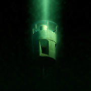 Digitally enhanced image of an Air raid siren in the centre of Tel Aviv, Israel