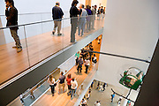 interior of the Museum of modern Art in New York