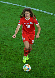 CARDIFF, WALES - Friday, September 6, 2019: Wales' Ethan Ampadu during the UEFA Euro 2020 Qualifying Group E match between Wales and Azerbaijan at the Cardiff City Stadium. (Pic by Paul Greenwood/Propaganda)