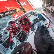 Leg 02, Lisbon to Cape Town, day 20, on board MAPFRE. Photo by Ugo Fonolla/Volvo Ocean Race. 24 November, 2017