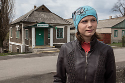 Jana, 23, a young mother lives in Gorodishe, a village near Lugansk. Since the conflict with Ukraine Jana has found it hard to cope with the stress of the conflict, a lack of medince and the closure of the polyclinic and pharmacy in her village.