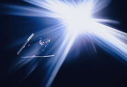 06.01.2020, Paul Außerleitner Schanze, Bischofshofen, AUT, FIS Weltcup Skisprung, Vierschanzentournee, Bischofshofen, Finale, im Bild Karl Geiger (GER) // Karl Geiger of Germany during the final for the Four Hills Tournament of FIS Ski Jumping World Cup at the Paul Außerleitner Schanze in Bischofshofen, Austria on 2020/01/06. EXPA Pictures © 2020, PhotoCredit: EXPA/ JFK