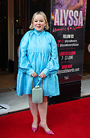 Nicola Coughlan  at the  'Alyssa, Memoirs of a Queen' gala performance, Vaudeville Theatre, The Strand, London, UK - 10 Jun 2021 photo by Roger Alarcon