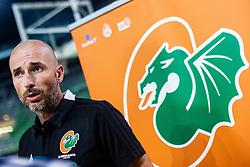 Slaven Rimac head coach of KK Cedevita Olimpija at press conference of KK Cedevita Olimpija in Arena Stozice on August 7th, 2019, in Arena Stozice, Ljubljana, Slovenia.Photo by Grega Valancic / Sportida