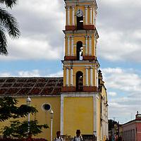 Central America, Cuba, Remedios. Iglesia Mayor of San Juan Bautista de los Remedios.