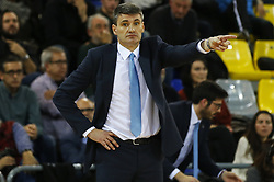 January 19, 2017 - Barcelona, Catalonia, Spain - Velimir Perasovic during the match between FC Barcelona and Anadolu Efes, corresponding to the week 17 of the Euroleague, on 19 January  2017. (Credit Image: © Joanvalls/NurPhoto via ZUMA Press)