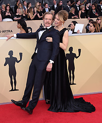 24th Annual Screen Actors Guild Awards held at the Shrine Exposition Center. 21 Jan 2018 Pictured: William H. Macy and Felicity Huffman. Photo credit: OConnor-Arroyo / AFF-USA.com / MEGA TheMegaAgency.com +1 888 505 6342