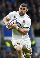 February 10, 2019 - London, England, United Kingdom - Mark Wilson of England.during the Guiness 6 Nations Rugby match between England and France at Twickenham  Stadium on February 10th, 2019 in Twickenham, London, England. (Credit Image: © Action Foto Sport/NurPhoto via ZUMA Press)