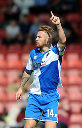 Matty Taylor of Bristol Rovers - Mandatory by-line: Dougie Allward/JMP - 25/07/2015 - SPORT - FOOTBALL - Cheltenham Town,England - Whaddon Road - Cheltenham Town v Bristol Rovers - Pre-Season Friendly