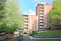 Architectural Photography of Columbia  Maryland Apartment Building Grande Point by Jeffrey Sauers of Commercial Photographics