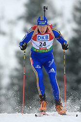 Mattias Nilsson Jr.  (SWE) at Men 20 km Individual at E.ON Ruhrgas IBU World Cup Biathlon in Hochfilzen (replacement Pokljuka), on December 18, 2008, in Hochfilzen, Austria. (Photo by Vid Ponikvar / Sportida)