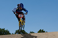 #39 (CARR Amanda) THA at the UCI BMX Supercross World Cup in Papendal, Netherlands.