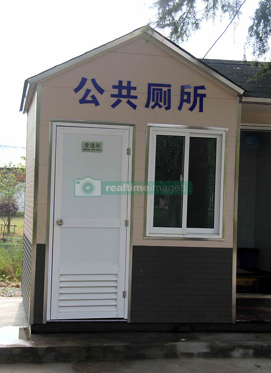 August 3, 2017 - Wuhu, Wuhu, China - Wuhu, CHINA-August 3 2017: (EDITORIAL USE ONLY. CHINA OUT) ..The mobile public toilet can be seen in Wuhu, east China's Anhui Province, August 3rd, 2017, making it more convenient for local residents and food deliverymen. (Credit Image: © SIPA Asia via ZUMA Wire)