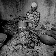 Pottery workshop, Tamegroute, Morocco (November 2006)